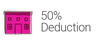 House Donation Group - 50% Deduction