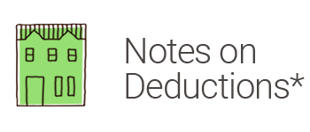 House Donation Group - Notes On Deductions